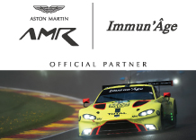 Official Partner Aston Martin Racing
