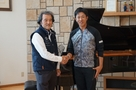 Professional Golfer Kunihiro Kamii visit O.R.I.