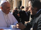 FPP was presented to the Pope Francis