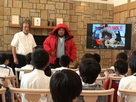 Mr. Taichi ITO, a member of the 58th Japanese Antarctic Research Expedition, visited Osato Research Institute for the 2nd